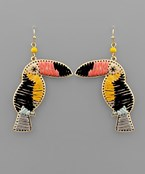 Tucan Dangle Earrings