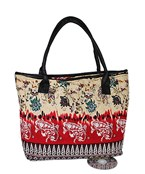 Floral and Paisley Tote