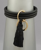 Tassel Keychain Bangle