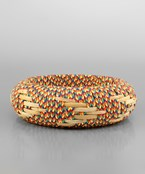 25mm Multi Color Rattan Bangle