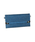 Perforated Rectangle Clutch
