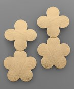 Double Quatrefoil Earrings