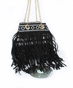 Fringed Tribal Bag