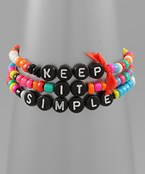 Keep It Simple Bracelet Set