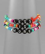 Less Is More Bracelet Set